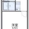 1K Apartment to Rent in Tsurugashima-shi Floorplan