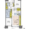 2LDK Apartment to Buy in Osaka-shi Nishi-ku Floorplan