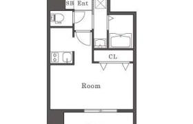 1K Apartment in Chikkohommachi - Fukuoka-shi Hakata-ku
