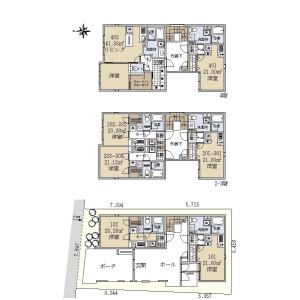 Whole Building {building type} in Toyotamakita - Nerima-ku Floorplan