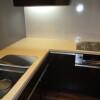 在涩谷区内租赁2LDK 公寓大厦 的 厨房