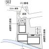 1K Apartment to Rent in Hirakata-shi Layout Drawing