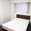 1K マンション 港区 ベッドルーム