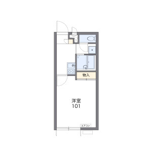 1K Apartment in Shimoshakujii - Nerima-ku Floorplan