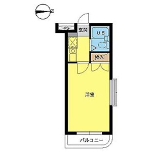 1K Apartment in Suge - Kawasaki-shi Tama-ku Floorplan