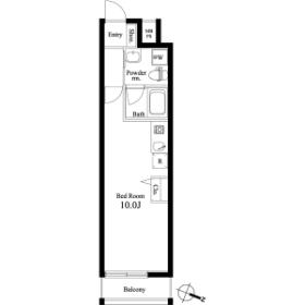 1R Mansion in Nishikoiwa - Edogawa-ku Floorplan