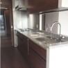 在港区内租赁3LDK 公寓大厦 的 厨房