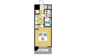 1R Apartment in Inari - Osaka-shi Naniwa-ku