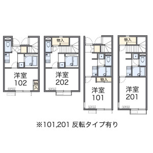 1K Apartment in Oji - Kita-ku Floorplan