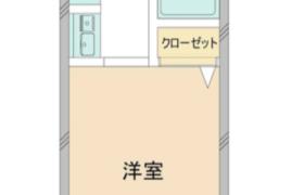 1K {building type} in Kitanomachi - Hachioji-shi