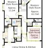 3LDK Apartment to Buy in Kyoto-shi Sakyo-ku Floorplan