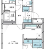 2LDK Apartment to Buy in Nerima-ku Floorplan