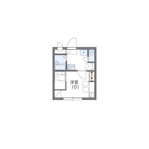 1K Apartment in Nakamiya - Osaka-shi Asahi-ku Floorplan