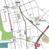 3LDK House to Rent in Chiba-shi Chuo-ku Map