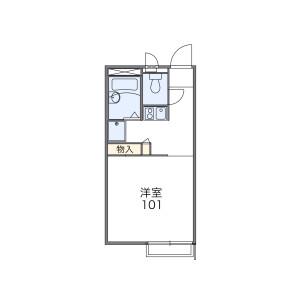 1K Apartment in Noguchicho - Higashimurayama-shi Floorplan