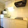 在京都市下京区内租赁1K 公寓大厦 的 厨房