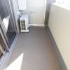 在新宿区购买1K 公寓大厦的 阳台/走廊