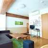 1LDK Apartment to Rent in Kobe-shi Chuo-ku Living Room
