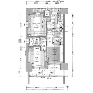 2LDK Mansion in Nakazakinishi - Osaka-shi Kita-ku Floorplan