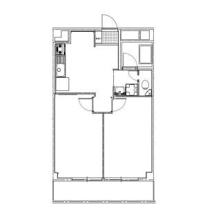 2DK Mansion in Tokiwadai - Itabashi-ku Floorplan