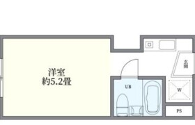 1R {building type} in Shimo - Fussa-shi