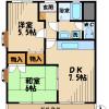 2DK Apartment to Rent in Hino-shi Floorplan