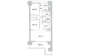 2SLDK Apartment in Sakaemachidori - Kobe-shi Chuo-ku