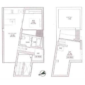 1SLDK Mansion in Nishiazabu - Minato-ku Floorplan