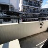1K Apartment to Rent in Meguro-ku Balcony / Veranda