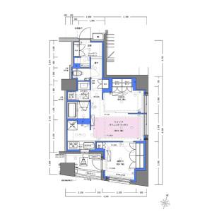 2LDK Mansion in Kandatacho - Chiyoda-ku Floorplan