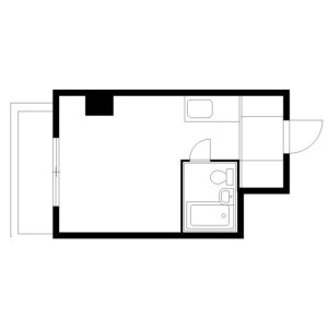 1R 맨션 in Nishisugamo - Toshima-ku Floorplan