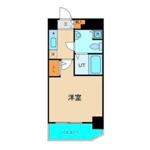港區南青山-1K公寓大廈 房間格局