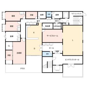 4SLDK Mansion in Yoyogi - Shibuya-ku Floorplan