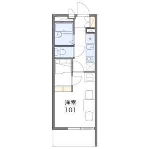 1K Mansion in Nogata - Nakano-ku Floorplan