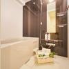 在新宿区购买1LDK 公寓大厦的 浴室