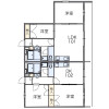 2DK Apartment to Rent in Zama-shi Floorplan