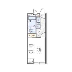 1K Mansion in Asahi - Kawaguchi-shi Floorplan