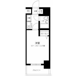 1K Mansion in Nishiwaseda(sonota) - Shinjuku-ku Floorplan