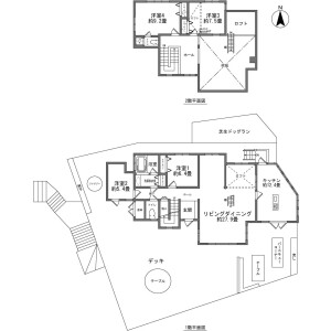 4LDK {building type} in Suyama - Susono-shi Floorplan