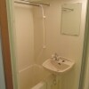 1K Apartment to Rent in Chiyoda-ku Washroom