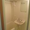 1K Apartment to Rent in Chiyoda-ku Washroom