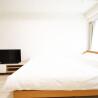1K マンション 江東区 ベッドルーム