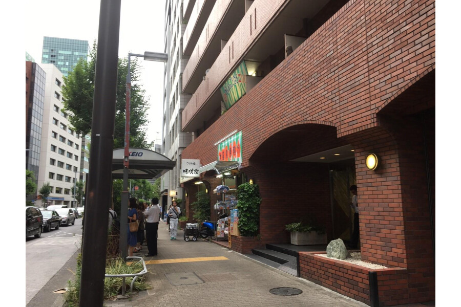 1R マンション 新宿区 内装