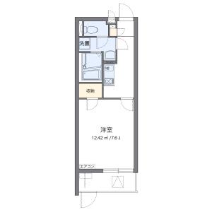 1K Mansion in Shibafuji - Kawaguchi-shi Floorplan