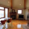 在横浜市中区购买4LDK 独栋住宅的 起居室
