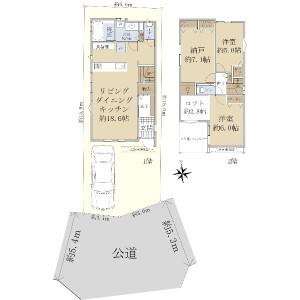2SLDK {building type} in Kamiigusa - Suginami-ku Floorplan
