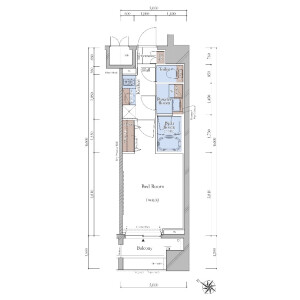 1K {building type} in Kitaotsuka - Toshima-ku Floorplan