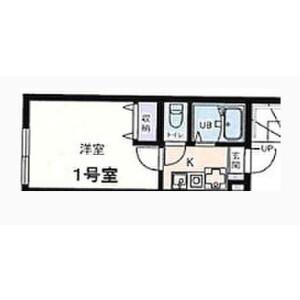 1K Apartment in Adachi - Adachi-ku Floorplan