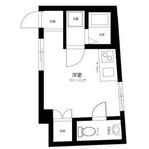 1R Apartment in Nerima - Nerima-ku Floorplan