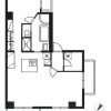 1SLDK Apartment to Buy in Minato-ku Floorplan